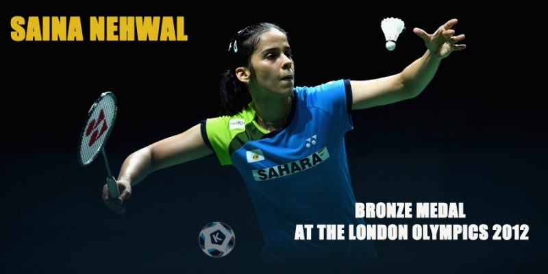Saina Nehwal Bronze medal at the London Olympics 2012