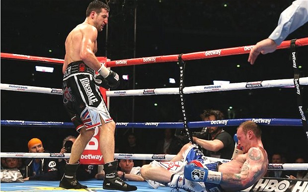 Carl Froch boxing