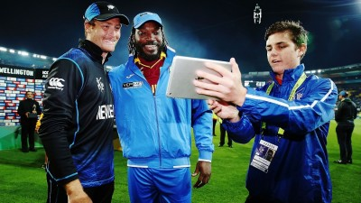 Martin Guptill New Zealand v West Indies: Quarter Final - 2015 ICC Cricket World Cup