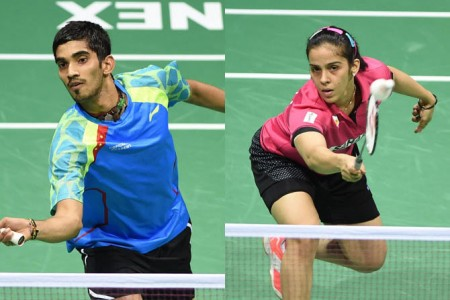 Saina, Srikanth indian badminton