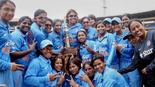 Indias women cricketers