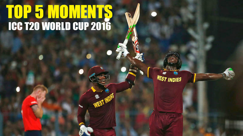 ICC T20 World cup 2016 - Top 5 Moments