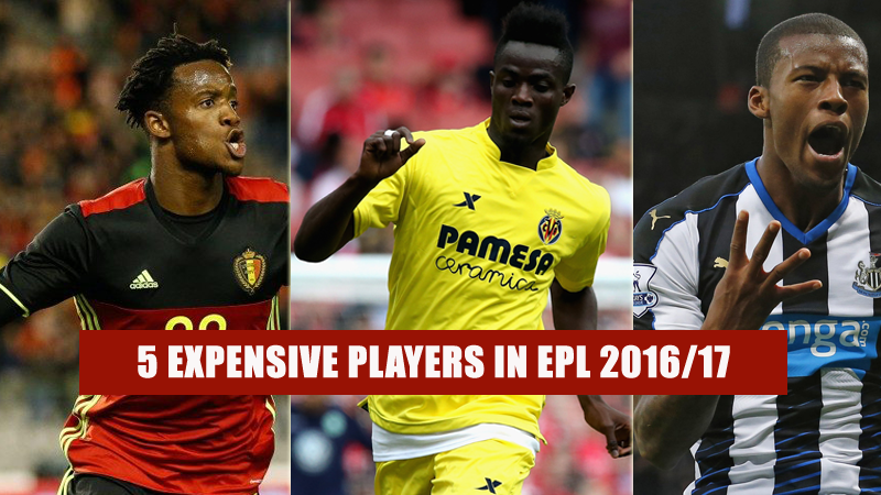 Expensive players in EPL