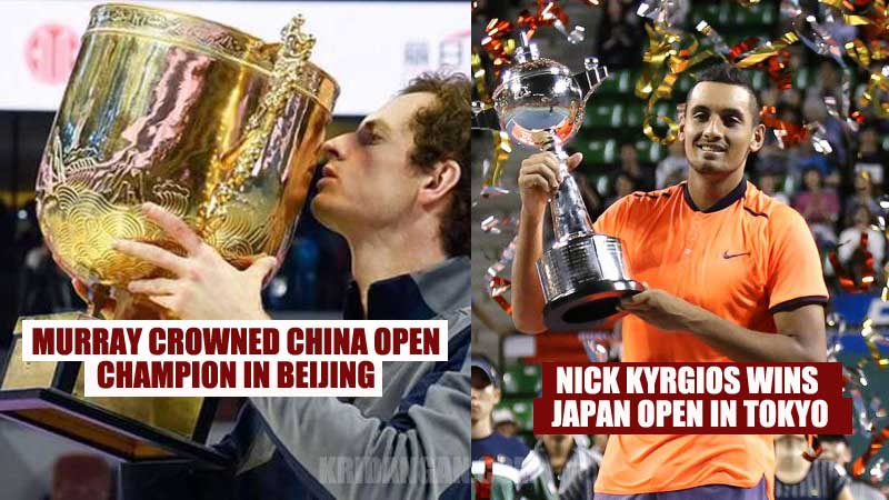 Murray Crowned China Open Champion in Beijing