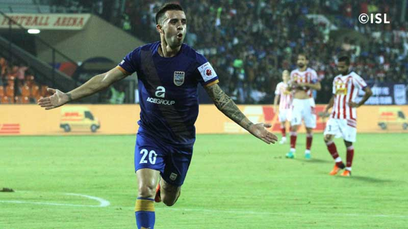 Mumbai City FC Against Atletico de Kolkata 2016