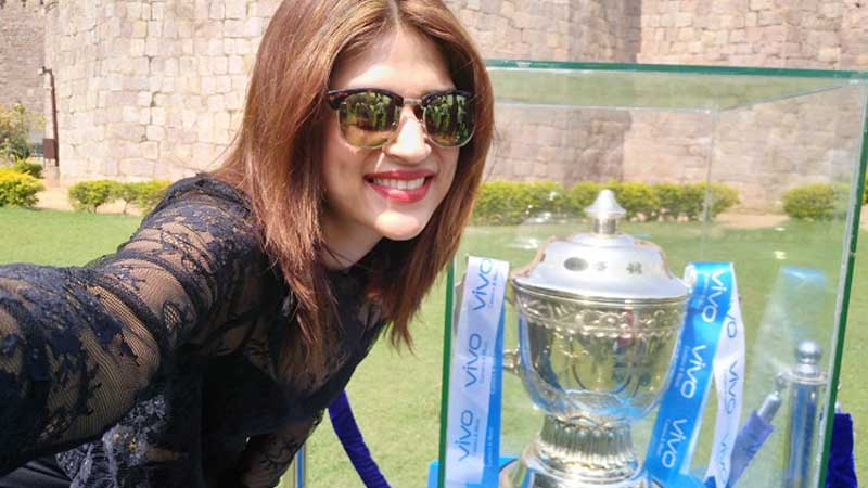 VIVOIPL 2017 Trophy Tour