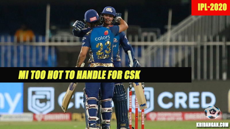 MI too hot to handle for CSK