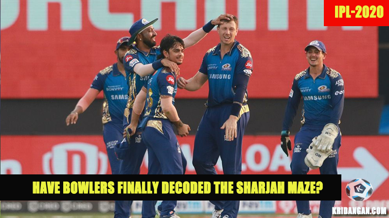 SRH succumbs to MI- Have Bowlers finally decoded the Sharjah Maze?